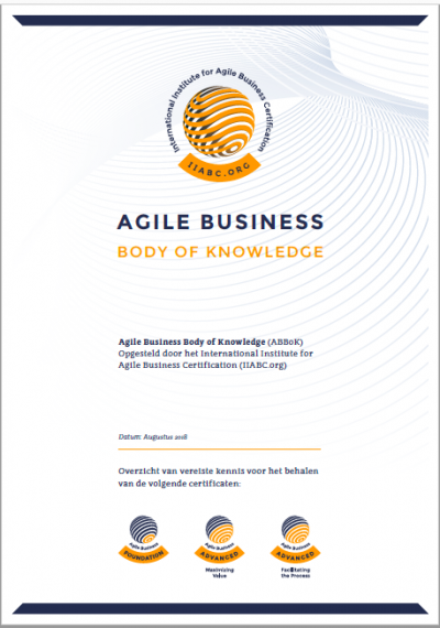 Agile Business Body of Knowledge