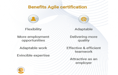 Agile certification: benefits for you and the organization